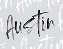 Austin | Opentype SVG Font
