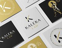 Branding, logo & web design for Kaleka Law