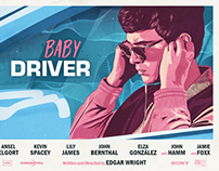Baby Driver alternative poster