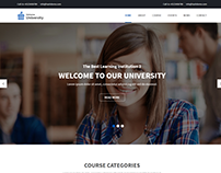 Univers – Education WordPress Theme