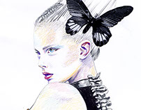 Fashion Illustration/AlexanderMCQueen