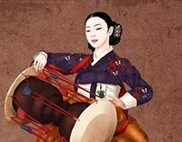 Korea ilust Hanbok Miindo_15