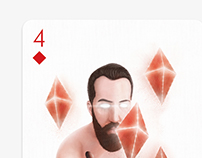 Playing Arts - 4 of diamonds