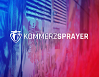 Kommerzsprayer Corporate Design