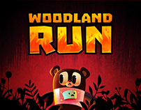 Woodland Run - Mobile Game and Animation