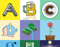 Letters for the #36daysoftype challenge