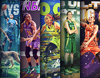 2017 WNBA Social Media Artwork