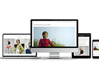 RESPONSIVE WEBSITE ROSITA DYLKA HAUTE COUTURE BERLIN