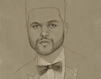 The Weeknd sketch