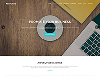 Response - One Page HTML5 Template