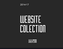 Website Collection - Studio Createam | 2015-17