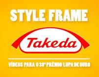 Criação de Style Frame para videos de marcas da Takeda