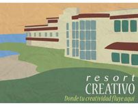 """Animación Digital """"Resort Creativo"""""""