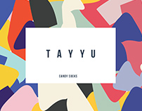 TAYYU Candy Socks Packaging Design
