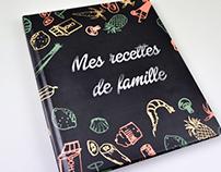 Mes recettes de famille - 140 pages