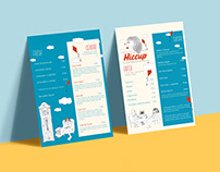 Menu Design and Illustrations