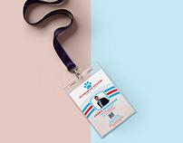 Free PSD ID Card Design