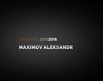 Showreel Maximov 2016