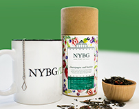 NYBG Tea Label Re-Design