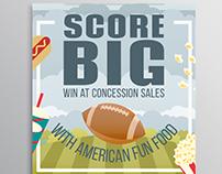 American Fun Food Score Big Campaign