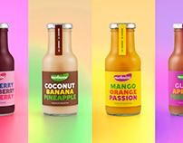 Mehuiza   Premium Smoothie Packaging Design