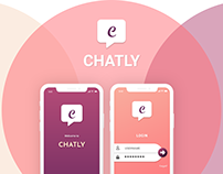 CHATLY - A Chat App UI