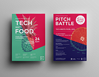 Visual branding Tech meets Food