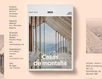 Diseño Editorial — Casas de Montaña