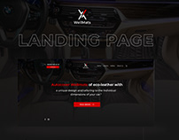 Landing Page for Wellmats