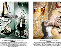 Design / Illustration - Vanity Fair Spread
