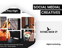 Social Media Creatives - Flying Duck Co