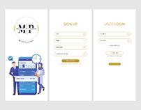 Muslim Planner Mobile App User Interface Design