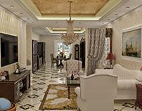 Neoclassic interior