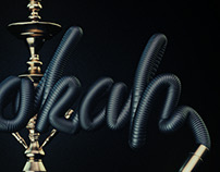 Hubbly/Hookah Typography
