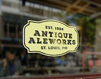 Antique Aleworks Branding