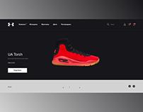 Under Armour - concept website