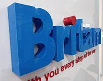 Britam Insurance Office Branding