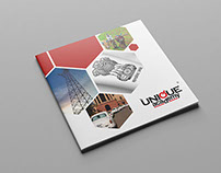 Unique Academy - Brochure Design