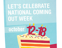 National Coming Out Week Flier