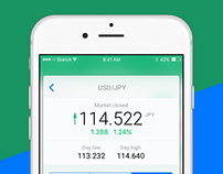 Currency Checker App Concept by Next.Art