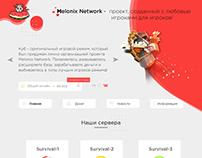 Разработка Веб-дизайна для Melonix NetWork