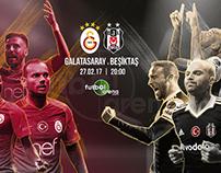Galatasaray v Beşiktaş Illustration for FutbolArena