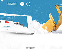 Firma odśnieżająca / snow removal company website