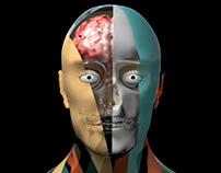 Groovy Man Groovy Skull Groovy Brain