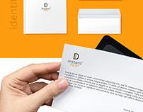 Instant Digital 365 / Branding, Logo Design.
