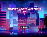 Student Project - Secret Agent Auctions
