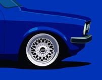 Audi 50 euroelements