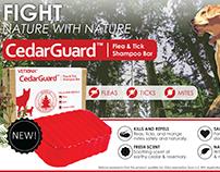 CedarGuard Soap Web/Print Campaign