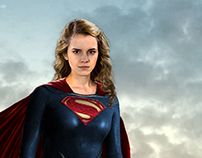 Supergirl Man-of-Steel