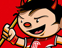 Carácter Diablos Rojos del Toluca.